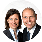 Stefanie and Alexander Peters, managing operators of the NEUMAN & ESSER GROUP.